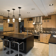 Asian Kitchen by Midori Yoshikawa Design Group