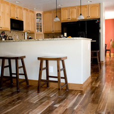 Eclectic Kitchen by Magnus Anderson Hardwood Floors