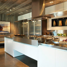 Contemporary Kitchen by Zone 4 Architects, LLC