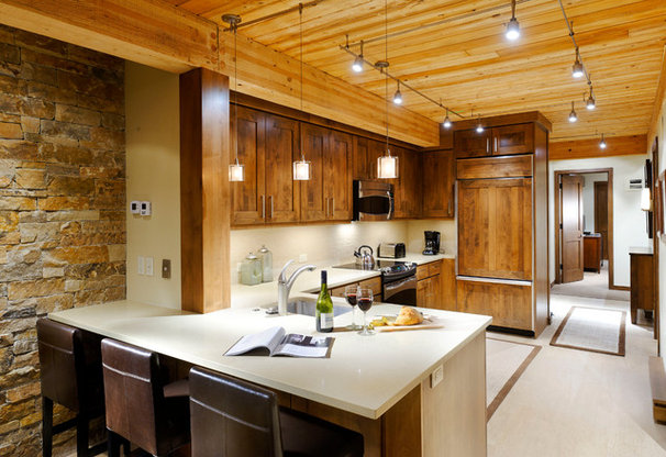 Contemporary Kitchen by Anne Grice Interiors