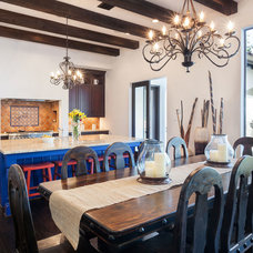Mediterranean Kitchen by Cason Graye Homes