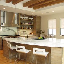 Contemporary Kitchen by Carole Post Interior Design