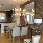 Aster At Mosaic Contemporary Living Room Dc Metro