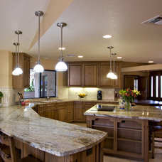 Traditional Kitchen by Davis Design Group