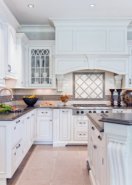 traditional kitchen by Venegas and Company