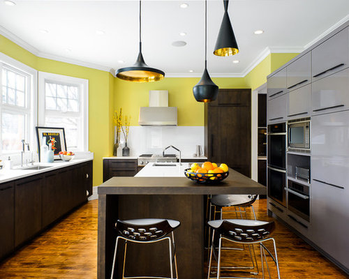 Contemporary Kitchen Renovation By Astro Design Ottawa