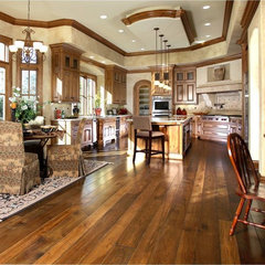 traditional kitchen by Amber Flooring
