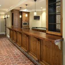 Rustic Kitchen by Markay Johnson Construction