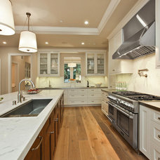 Transitional Kitchen by Clarum Homes
