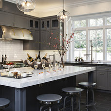 Transitional Kitchen by Jules Art of Living