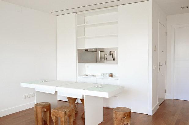 Cocinas peque as soluciones compactas para espacios reducidos for Cocinas americanas cerradas