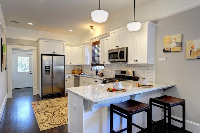 Traditional Kitchen by Carl Mattison Design