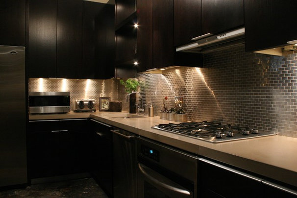 Asian Kitchen by Habachy Designs
