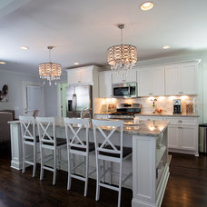 Traditional Kitchen by Vincent Longo Custom Builders