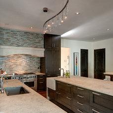 Contemporary Kitchen by Tamara Bickley Design