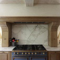 Transitional Kitchen by Bradley E Heppner Architecture, LLC