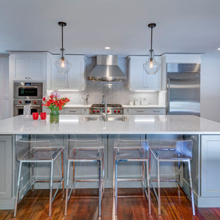 Kitchen appliance - Example of a kitchen design in Atlanta