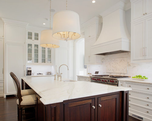 pictures of backsplash in kitchens best white range design ideas amp remodel pictures houzz 7439