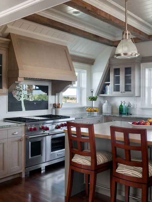 Gray Stained Cabinets Home Design Ideas Pictures Remodel