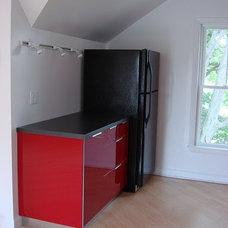 Modern Kitchen Attic Apartment