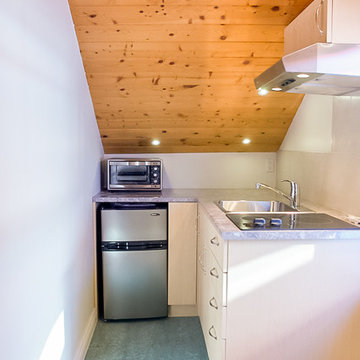 Attic Rental Suite Photography for web advertising