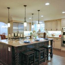 Traditional Kitchen by Timmerman Development