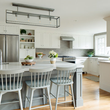 Auburndale Farmhouse Kitchen - Gut Renovation