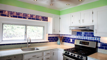 Auckland GEOS Recycled Glass Surface Kitchen in Virginia Beach