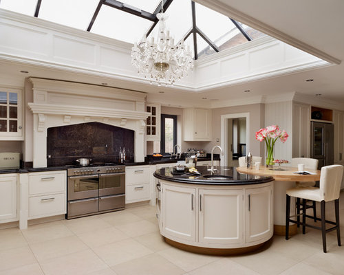 Large Contemporary Kitchen Pictures   Example Of A Large Trendy Kitchen  Design In Essex Part 53