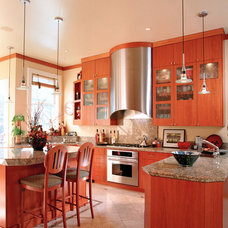 Traditional Kitchen by Audrey Brandt Interiors