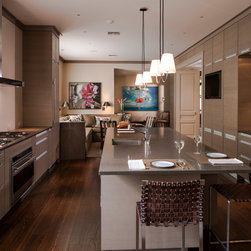 New orleans galley kitchen kitchen design ideas remodels for Expanding a galley kitchen