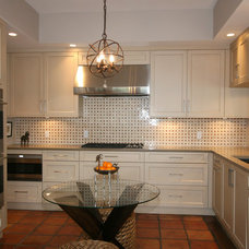 Transitional Kitchen by Classic Cupboards, Inc