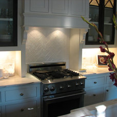 Traditional Kitchen by Martini Tile, LLC
