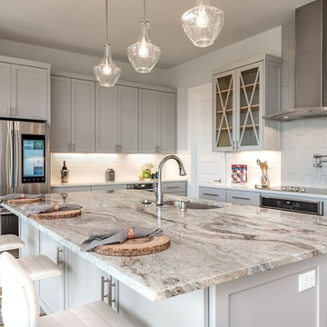 Austin Fantasy Brown & Crystal Ice Kitchen