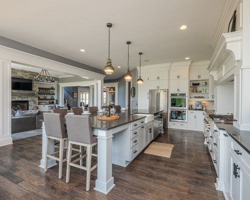 Kitchen with White Cabinets Design Ideas & Remodel Pictures | Houzz
