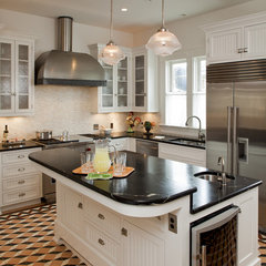 traditional kitchen by Volz & Associates, Inc.
