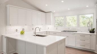 Austin Transitional Remodel Kitchen