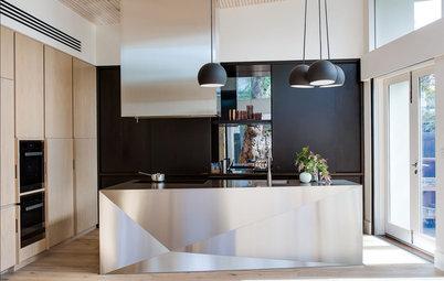 15 eksempler: En vild køkkenø kan løfte hele rummet