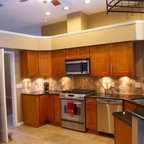 Cinnamon Shaker Kitchen Cabinets Home Design - Traditional - Columbus - by Lily Ann Cabinets