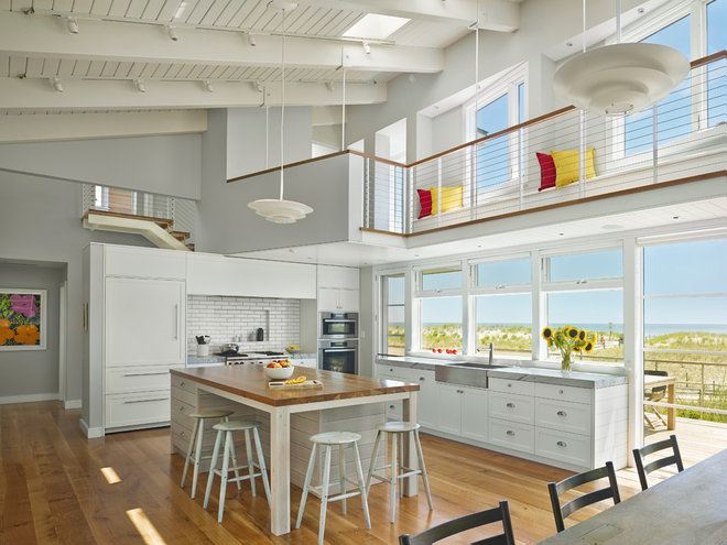 beach style kitchen by McCoubrey/Overholser, Inc.