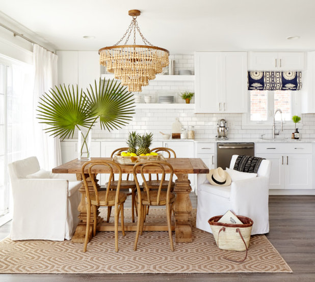 Beach Style Kitchen by Stephanie Kraus Designs, LLC