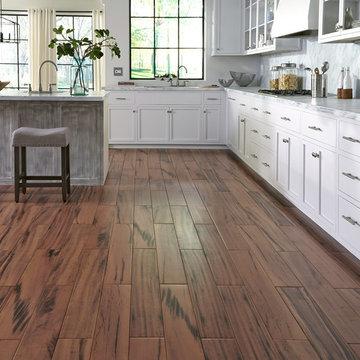 """Avella XD 36"""" x 6"""" Elegant Wood Brazilian Koa Porcelain Flooring"""