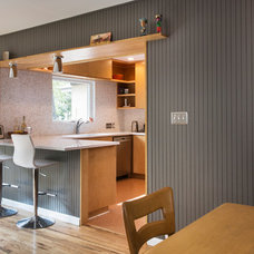 Midcentury Kitchen by Merzbau Design Collective