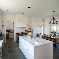 Traditional Kitchen by V Fine Homes