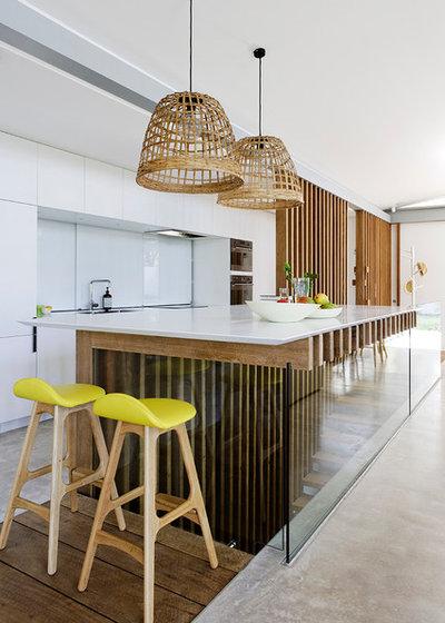 Contemporary Kitchen by Light Culture Australia Pty Ltd