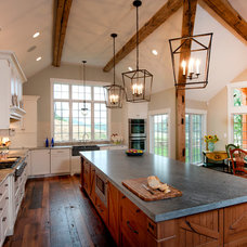 Rustic Kitchen by American Contracting Services, Inc.