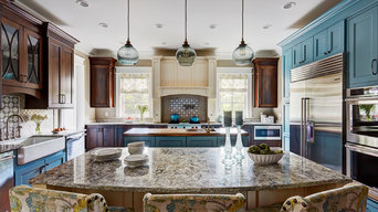Award Winning Blue Kitchen
