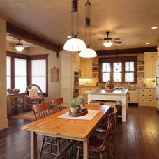 Traditional Kitchen by SILVERTON CUSTOM HOMES