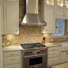 Traditional Kitchen by Dresner Design | Chicago Custom Kitchens Cabinets
