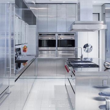 Award Winning Stainless Steel Kitchen